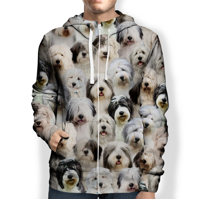 You Will Have A Bunch Of Old English Sheepdogs - Hoodie V1