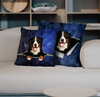 They Steal Your Couch - Bernese Mountain Pillow Cases V1 (Set of 2)