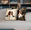 They Steal Your Couch - Cavalier King Charles Spaniel Pillow Cases V1 (Set of 2)