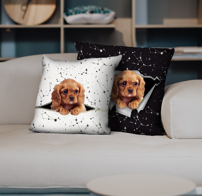 They Steal Your Couch - Cavalier King Charles Spaniel Pillow Cases V2 (Set of 2)