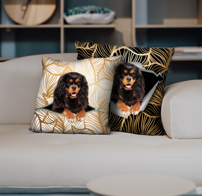 They Steal Your Couch - Cavalier King Charles Spaniel Pillow Cases V5 (Set of 2)