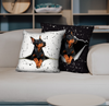 They Steal Your Couch - Doberman Pinscher Pillow Cases V2 (Set of 2)