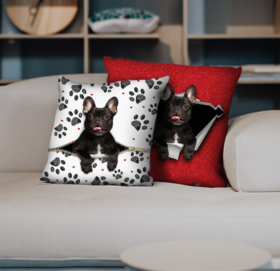 They Steal Your Couch - French Bulldog Pillow Cases V4 (Set of 2)