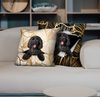 They Steal Your Couch - Goldendoodle Pillow Cases V1 (Set of 2)