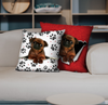 They Steal Your Couch - Griffon Bruxellois Pillow Cases V2 (Set of 2)