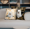 They Steal Your Couch - Japanese Spitz Pillow Cases V1 (Set of 2)