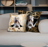 They Steal Your Couch - Saluki Pillow Cases V1 (Set of 2)