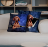 They Steal Your Couch - Vizsla Pillow Cases V1 (Set of 2)