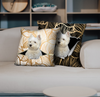 They Steal Your Couch - West Highland White Terrier Pillow Cases V1 (Set of 2)