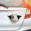 We Like Riding In Cars - Samoyed Car/ Door/ Fridge/ Laptop Sticker V1
