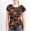 You Will Have A Bunch Of Dachshunds - Tshirt V1