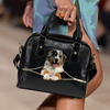 Australian Shepherd Shoulder Handbag V3