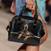 Bluetick Coonhound Shoulder Handbag V1