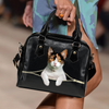 Calico British Shorthair Cat Shoulder Handbag