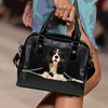 Cavalier King Charles Spaniel Shoulder Handbag V2