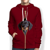 I'm With You - Dachshund Hoodie V2
