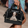 Dalmatian Shoulder Handbag V3