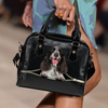 English Cocker Spaniel Shoulder Handbag V4