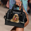 American Cocker Spaniel Shoulder Handbag V3