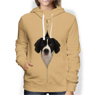 I'm With You - English Pointer Hoodie V2