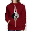 I'm With You - English Setter Hoodie V1