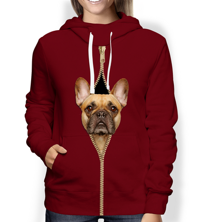 I'm With You - French Bulldog Hoodie V2