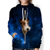 Wire Fox Terrier Galaxy Hoodie V1