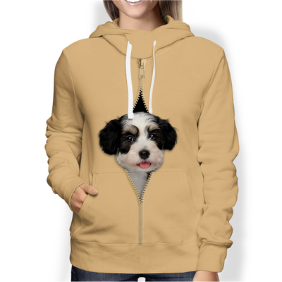 I'm With You - Havanese Hoodie V2