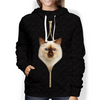 I'm With You - Birman Cat Hoodie V2
