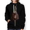 I'm With You -  English Cocker Spaniel Hoodie V3