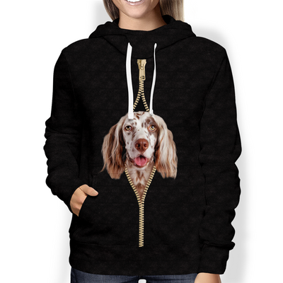 I'm With You - English Setter Hoodie V2