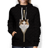 I'm With You - Exotic Cat Hoodie V1
