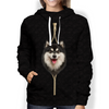 I'm With You - Finse Lapphund Hoodie V1