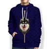 I'm With You - Finnish Lapphund Hoodie V1