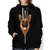 I'm With You - German Shepherd Hoodie V2