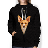 I'm With You - Podenco Canario Hoodie V1