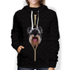 I'm With You - Schnauzer Hoodie V4