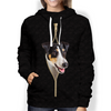 I'm With You - Smooth Fox Terrier Hoodie V2