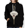 I'm With You - Bichon Frise Hoodie V2