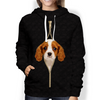 I'm With You - Cavalier King Charles Spaniel Hoodie V4