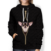 I'm With You - Chihuahua Hoodie V2
