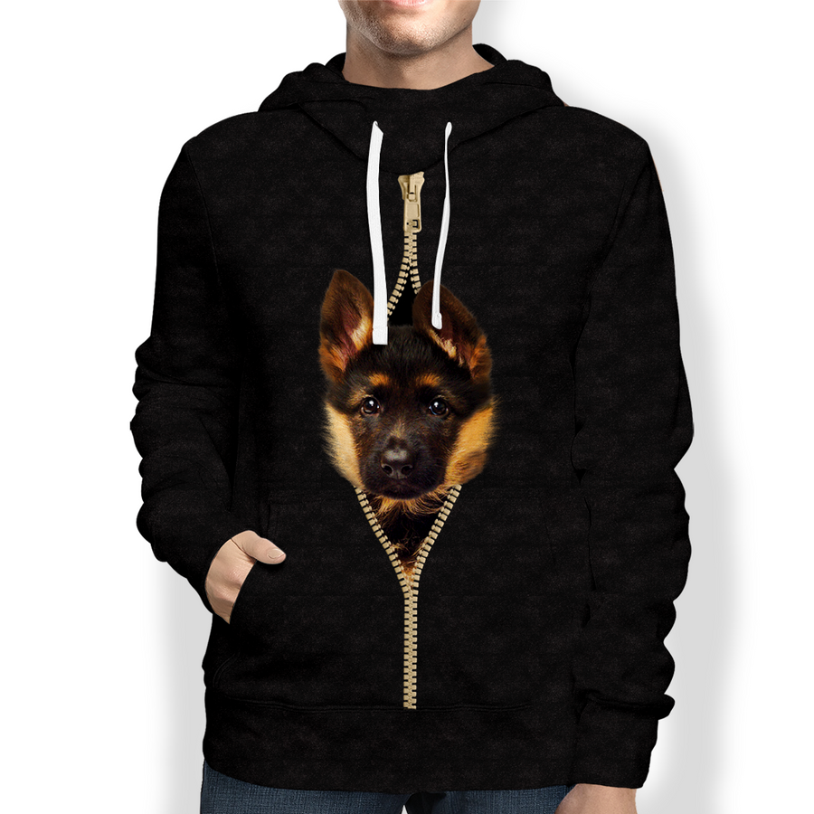 I'm With You - Duitse herder Hoodie V1