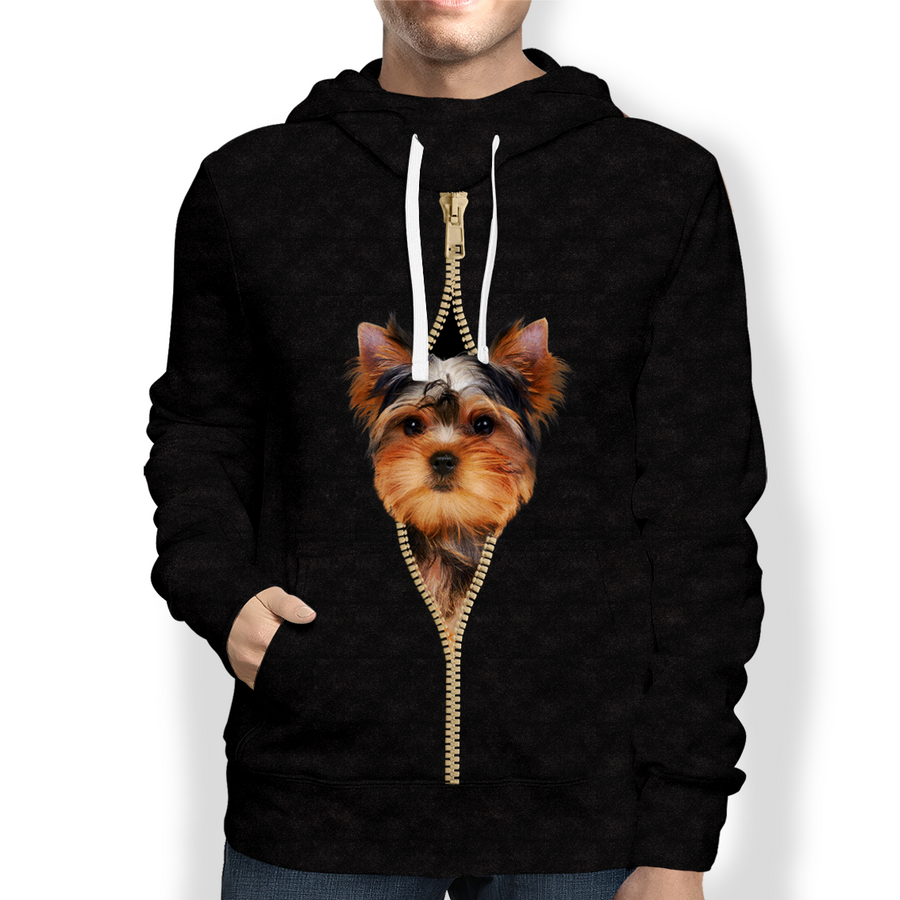 I'm With You - Yorkshire Terrier Hoodie V2