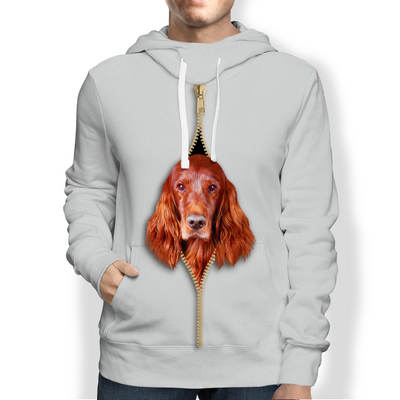 I'm With You - Irish Setter Hoodie V2