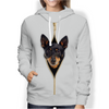 I'm With You - Lancashire Heeler Hoodie V1