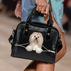 Lhasa Apso Shoulder Handbag V3