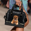 Border Terrier Shoulder Handbag V3