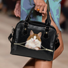 Norwegian Forest Cat Shoulder Handbag V1