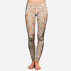 Cute Pembroke Welsh Corgi Yoga - Leggings V1