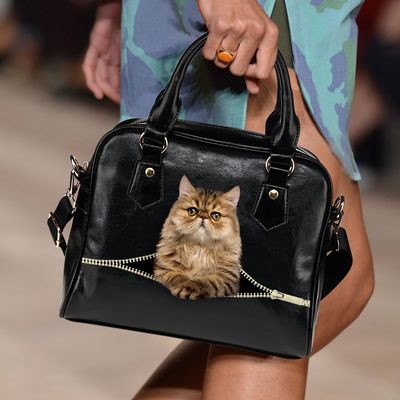 Persian Cat Shoulder Handbag V3